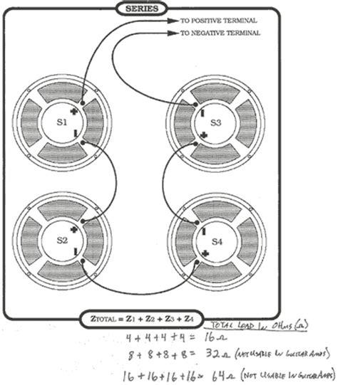 Wiring 8 Ohm Speaker In Series by S V V A Speaker Q A