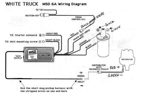Msd Coil Tach Wiring by Msd 6al Tach Not Working 260z Ignition And Electrical