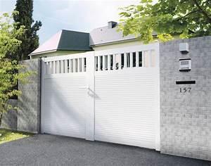 Portail Brico Depot 4m : portail pvc m portail coulissant en fer sfrcegetel ~ Farleysfitness.com Idées de Décoration