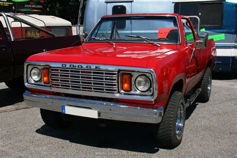 Dodge 1977 Ramcharger 1  The History Of Cars Exotic