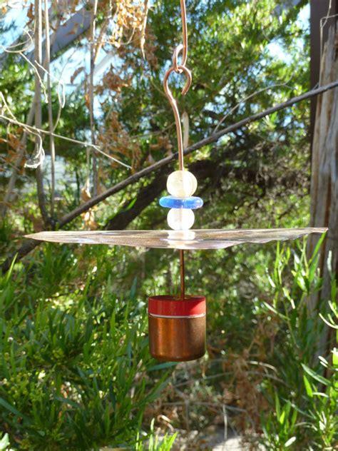 woodpecker resistant hummingbird feeder by copperhummingbird