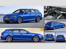 Audi A4 Avant 2016 pictures, information & specs