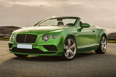 2018 Bentley Continental Gt Supersports 2dr Convertible