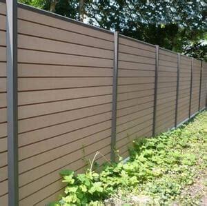 bois composite cloture multiclot cl 244 tures et portails gironde 33