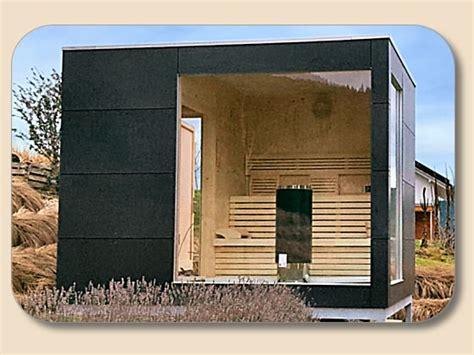 gartensauna selbstbau von holzonde kaufen modern bauen