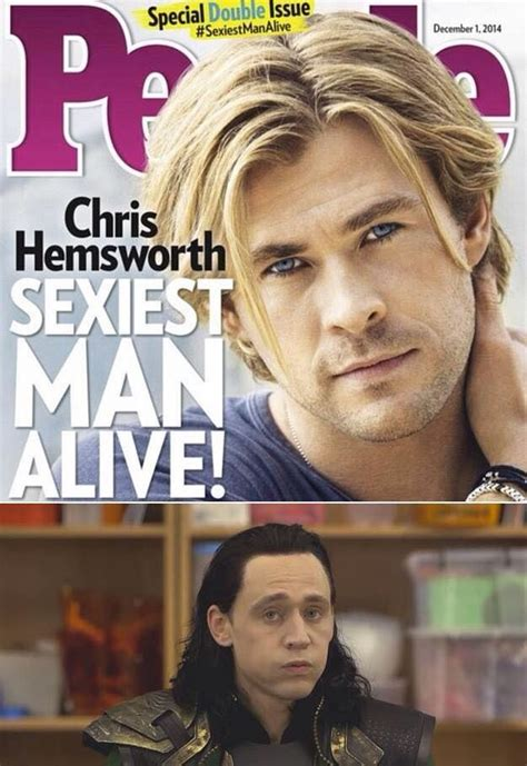 Aw man | Chris hemsworth, Hemsworth, People magazine