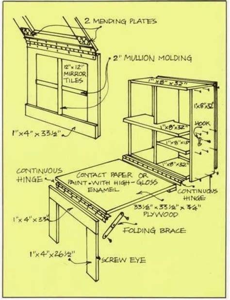 murphy kitchen table plans diy murphy table hometalk