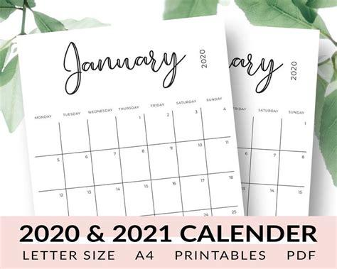 calendar printable january  december