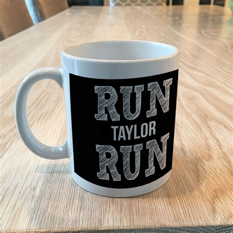 Running Coffee Mug  Run Your Name Run  Gone For A Run