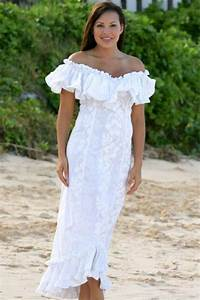 Dresses hawaiian wedding dresses with sleeves casual for Hawaiian wedding dresses casual