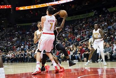 Basketball Ilyasova Ersan Hawks Charge Taking Turkish