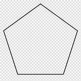 Shape Pentagon Regular Geometry Parallelogram Transparent Coloring Clipart Polytope Polygon Hiclipart Pngio sketch template