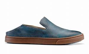 Spenco Insole Size Chart Olukai Kailua Women 39 S Leather Slip On Shoes Free
