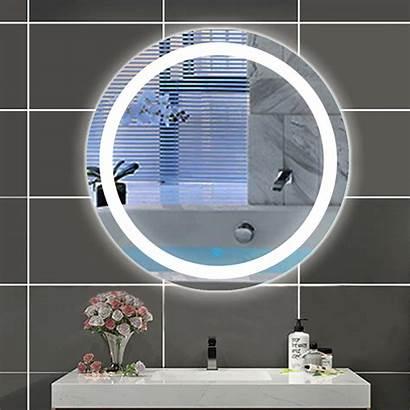 Led Rund Spiegel Beschlagfrei Wandspiegel Touch Badspiegel