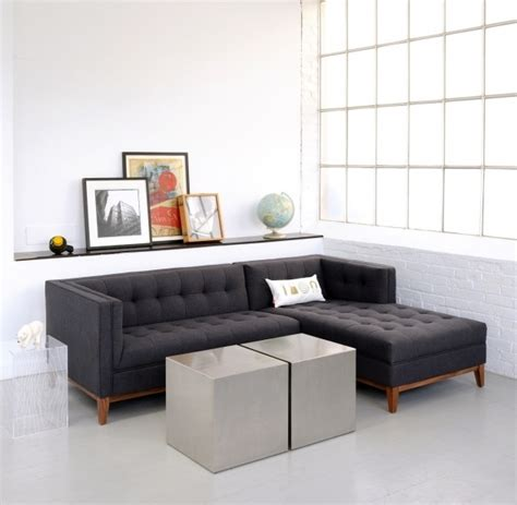 Apartment Size Sofa With Chaise Lounge by Small Size Sofa Style Sofa Living Room Combination