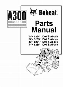 Bobcat Skid Steer Loader A300 Turbo Parts Manual Pdf