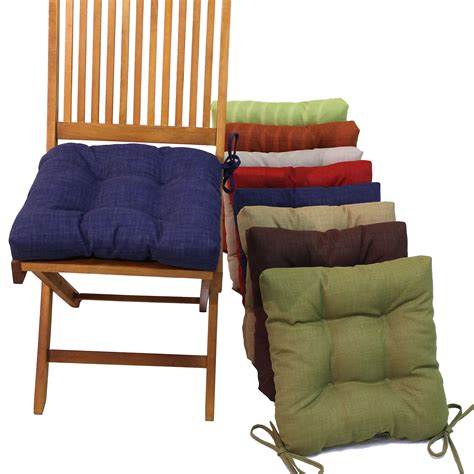blazing needles square outdoor 16 in chair cushions with