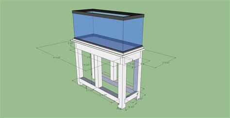 diy  gallon aquarium stand plans diy balsa wood