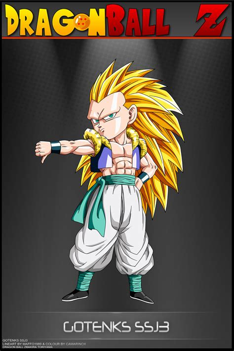 Dragon Ball Z Gotenks Ssj3 Vsb By Dbcprojectdeviantart
