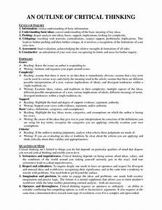 Essay Examples For High School Students Books On Critical Thinking Skills English Essay Speech also Example Of Thesis Statement For Essay Essays On Critical Thinking Assignment Log For Students Example  Narrative Essay Examples High School
