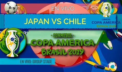 While the copa america is a south american tournament first and foremost, this year it has two have japan or qatar featured in the copa america before? Japan vs Chile En Vivo Score: Copa America Resultados 2019