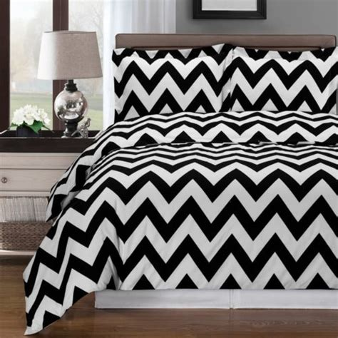 37082 chevron bed set black and white bedroom ideas luxcomfybedding