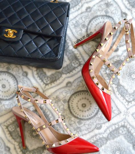 review   favorite shoes valentino rockstud sandals lollipuff