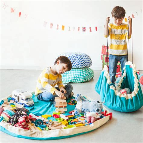 play and go sack play mats that make it easier to cleanup the mess