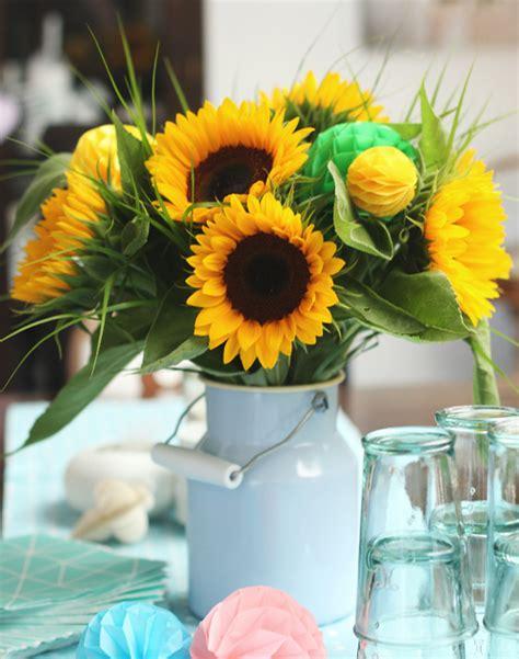 Dekorieren Mit Sonnenblumen by Toll Was Sonnenblumen Machen Dekoration Puppenzimmer