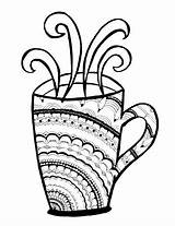 Starbucks Coloring Coffee Pages Cup Iced Mandala Adults Cups Adult Drawing Printable Cool Drinks Colouring Mug Tea Getdrawings Clipartmag Print sketch template