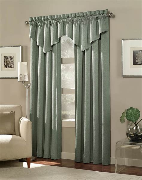 Tailored Window Valance, Living Room Curtains With Valance