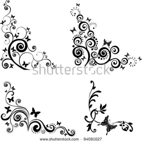 butterfly border black and white butterfly border designs black and white www pixshark