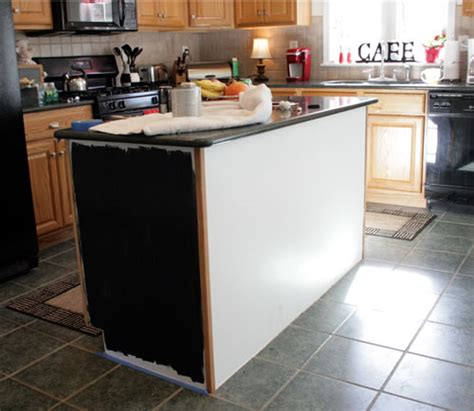painting kitchen island how painting the island black changed my kitchen 1399
