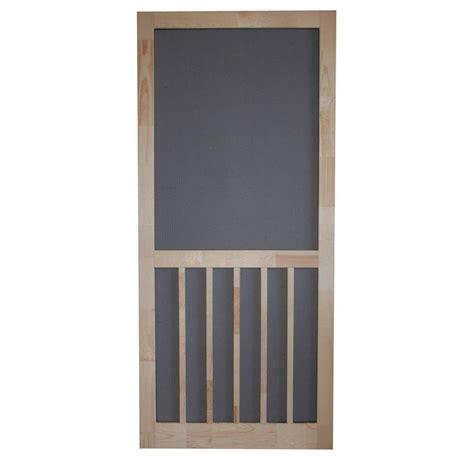 screen door home depot odl 72 in x 80 in brisa sandstone standard height