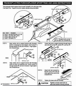 Installation Instructions Truxedo Lo Pro Qt Roll