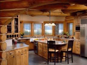 kitchen log cabin kitchens design ideas cottage kitchen