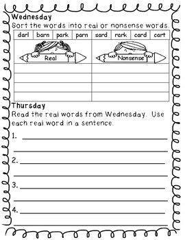 2nd grade word work activities weekly 2nd grade ela