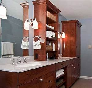 Bathroom renovation trends to make a note of for Bathroom vanities with storage towers