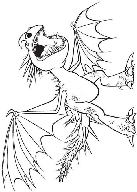 disegni  dragon trainer    da colorare   train  dragon disegno del drago dragon