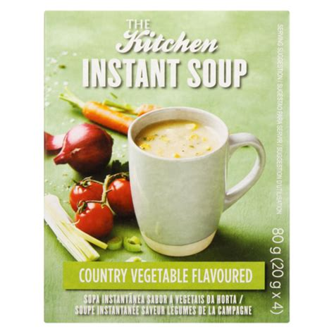 kitchen country vegetable flavoured instant soup