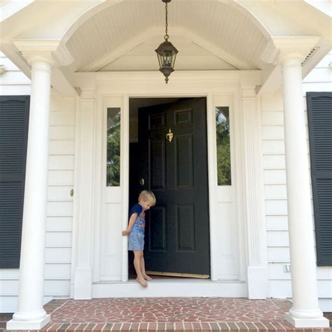 colonial front doors updating our outdoor lighting emily a clark