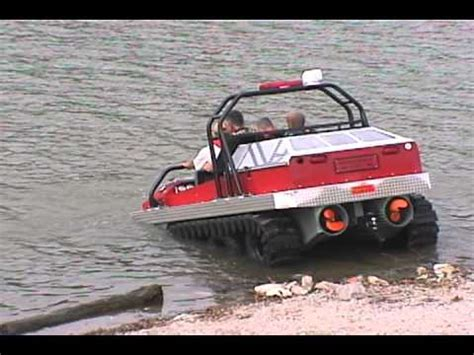 hibious rescue vehicle amphibious water rescue vehicle youtube