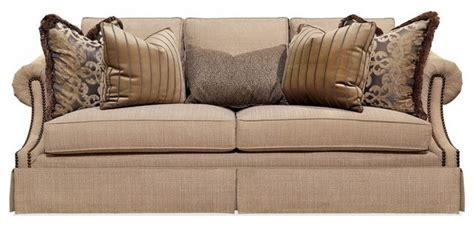 Henredon Loveseat by Henredon Tuscan Sofa Traditional Sofas Houston By