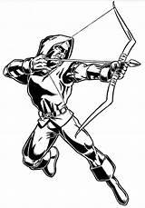 Arrow Coloring Iverson Allen Marvel Archer Cw Superhero Coloriage Adult Flecha Dibujos Dc Colouring Spacehamster Colorear Para Superheroes Template Super sketch template