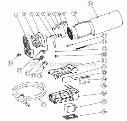 Heater Parts Mr Air Forced Construction Diagram