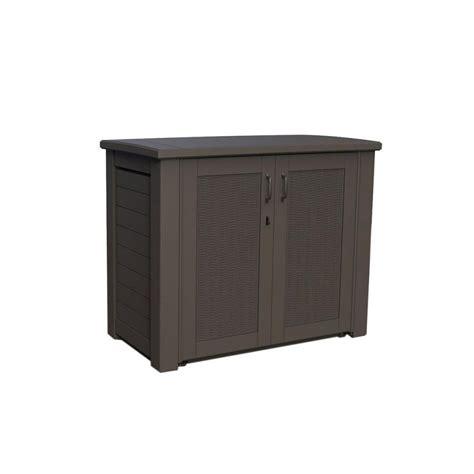 rubbermaid deck storage cabinet rubbermaid bridgeport resin patio cabinet 123 gal