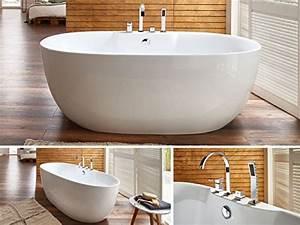 Freistehende Badewanne Mit Armatur : badewannen welches material ist das richtige ~ Bigdaddyawards.com Haus und Dekorationen