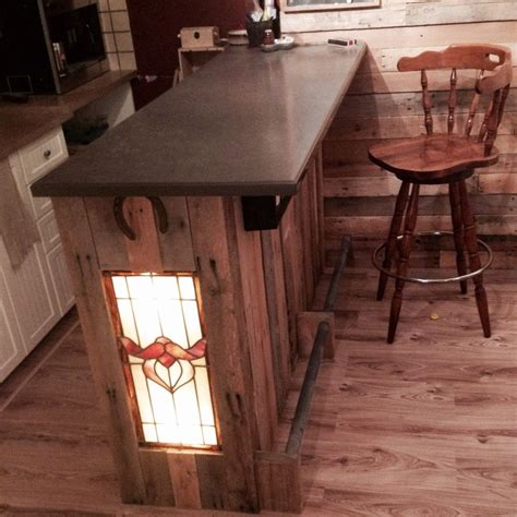 mon bar en bois de palette pallet wood bar id 233 e