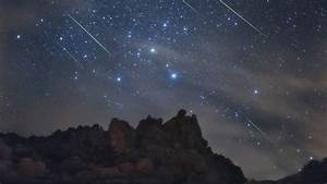 Beautiful Night Sky with Shooting Stars - Our Universe and ...