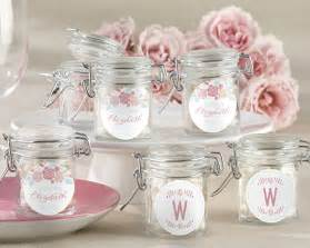 wedding favors 1 personalized rustic vintage bridal glass favor jars my wedding favors